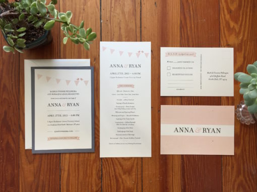 Anna & Ryan Invitation Suite