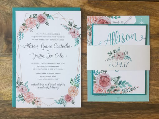 Allison & Justin Invitation Suite