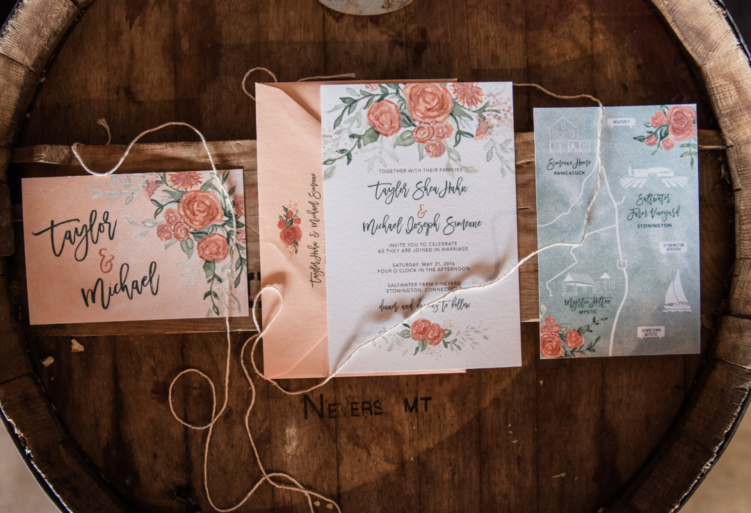 Taylor & Mike Invitation Suite