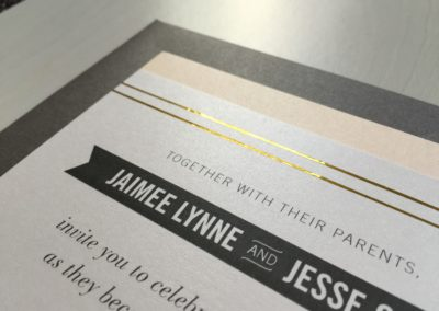 Jaimee & Jesse Invitation Suite