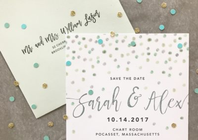 Sarah & Alex Save the Date