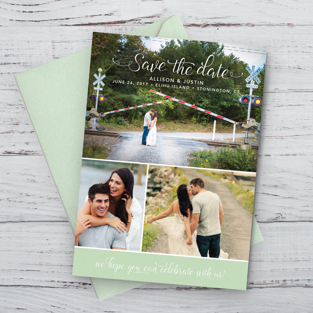 Allison & Justin Save the Date