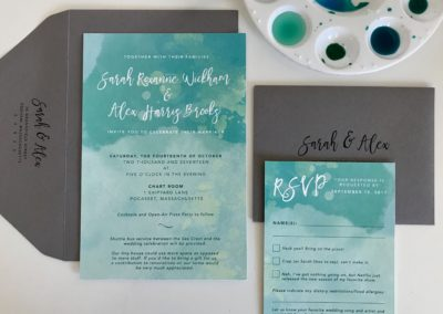 Sarah & Alex Invitation Suite