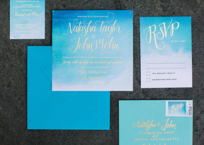 Natasha & John Wedding Invitation Suite