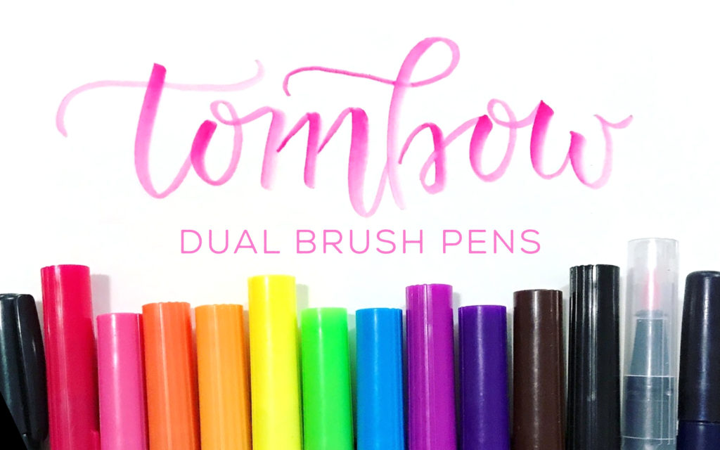 Pen Review: Tombow Dual Brush Pens