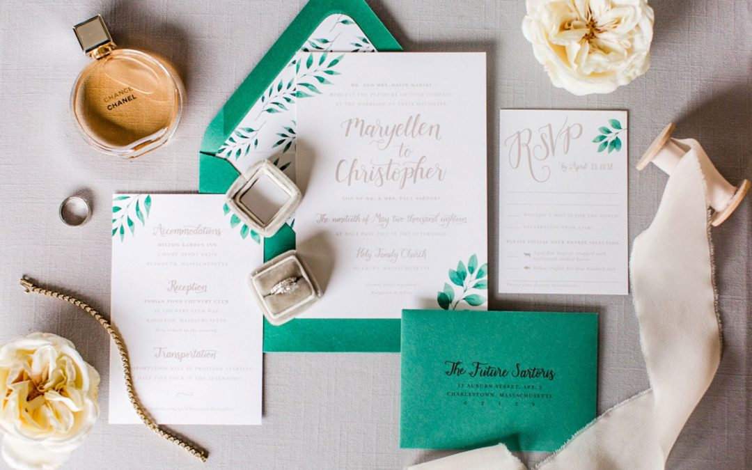 When to Send Your Wedding Invitations, Save the Dates, and Everything Else!
