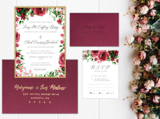 Fiona & Chad Wedding Invitation Suite
