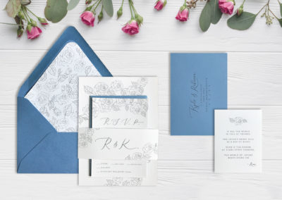 Rebecca & Kyle Wedding Invitation Suite