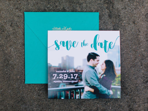 Natasha & John Save the Date