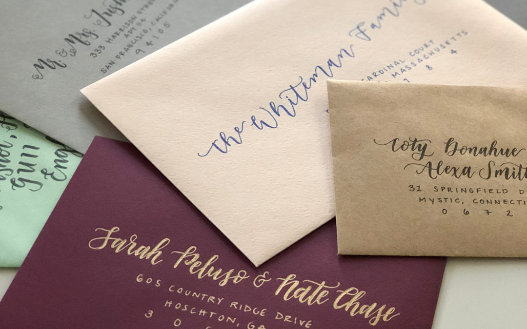 How To Address Your Wedding Envelopes