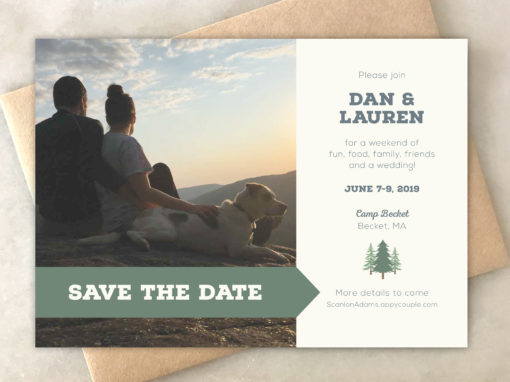 Lauren & Dan Save the Date