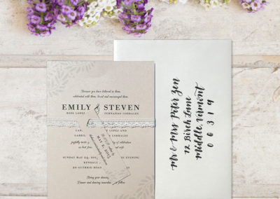 Emily & Steven Wedding Invitation Suite