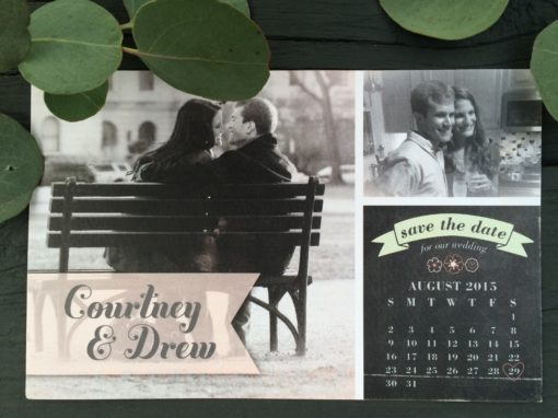 Courtney & Drew Save the Date