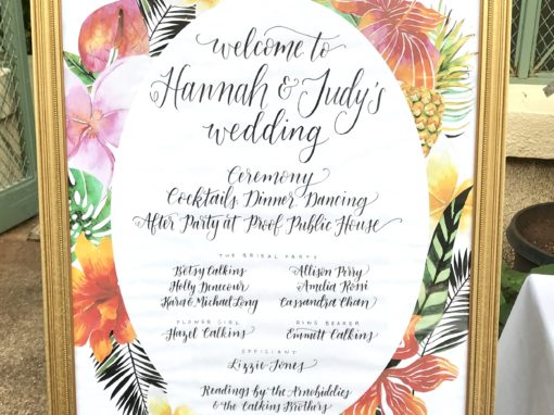 Hannah & Judy Wedding Day