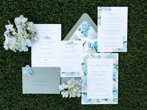 Lauren & Andrew Invitation Suite