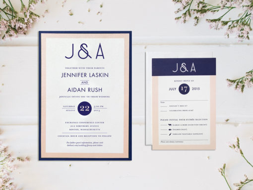 Jenny & Aidan Wedding Invitation Suite
