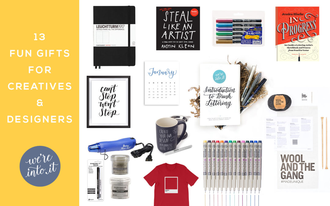 13 Fun Gifts for Creatives & Designers