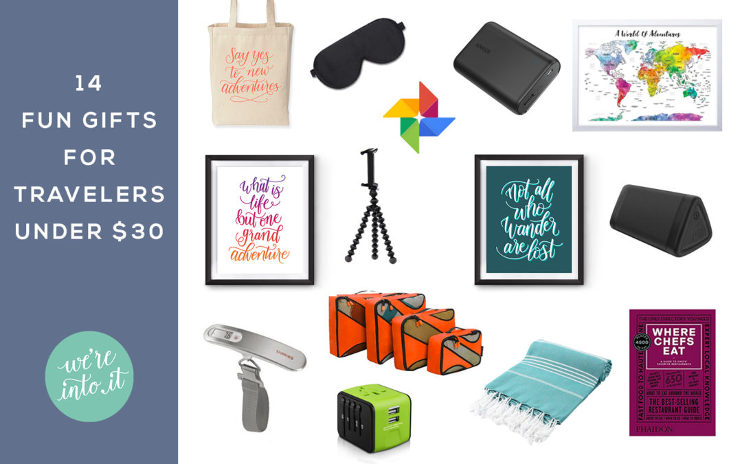 14 Fun Gifts for Travelers under $30