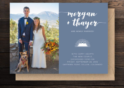 Morgan & Thayer Save the Date